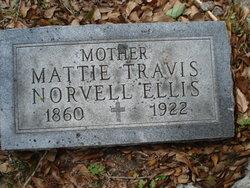 Mattie Norvell <I>Travis</I> Ellis