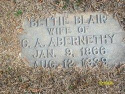 Bettie <I>Blair</I> Abernethy