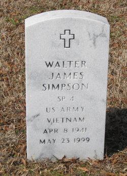 Walter James Simpson