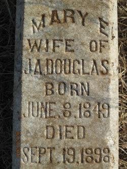 Mary E. <I>Jennings</I> Douglas