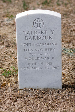 Talbert Young Barbour