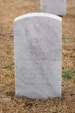 John Blease Billy