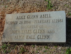 Alice <I>Glenn</I> Abell