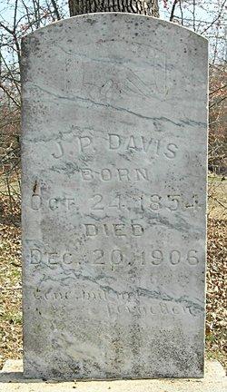 """Joseph Peeler """"J.P."""" Davis"""