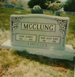 Mary Susan Marie <I>Ratliff</I> McClung
