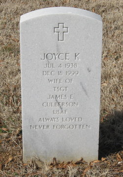Joyce K Culberson