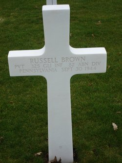Pvt Russell Brown