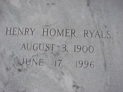 Henry Homer Ryals
