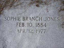 Sophie <I>Branch</I> Jones