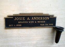 Josie A Anderson