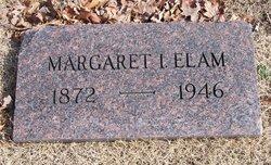 Margaret Isabelle <I>Edens</I> Elam