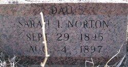 Sarah I Norton