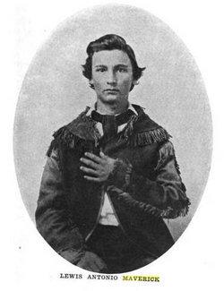 Maj Lewis Antonio Maverick
