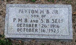 Peyton M. B. Self Jr.