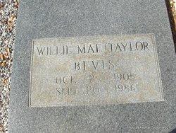 Willie Mae <I>Taylor</I> Bevis