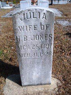 Julia Lola <I>Morris</I> Jones