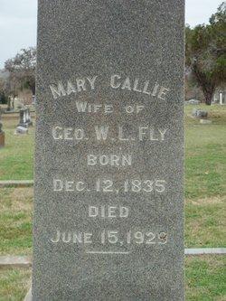 "Mary Caroline ""Callie"" <I>Bell</I> Fly"
