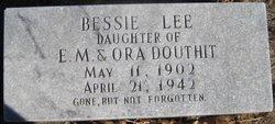 Bessie Lee <I>Douthit</I> Mahoney
