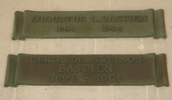 Gertrude Peterson <I>Allen</I> Bastien