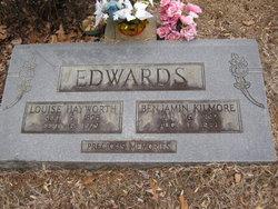 Louise Amanda <I>Hayworth</I> Edwards