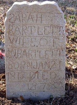 """Sarah Pursley """"Sallie"""" <I>Barclay</I> Bartlett"""