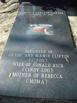 Cynthia Darlene <I>Clifton</I> Rich