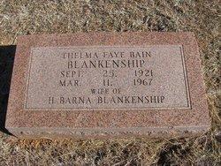 Thelma Faye <I>Bain</I> Blankenship