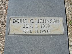 Doris Clifford <I>Clack</I> Johnson