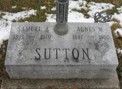 """Samuel Jacob """"Sam"""" Sutton"""