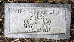 "Norman Peter Quill ""Pete"" Myers"