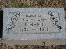 Mary Jane Kinard