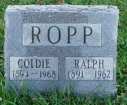Goldie Marie <I>Wells</I> Ropp