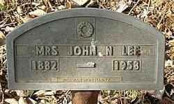 Mrs John N. Lee