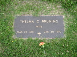 Thelma Camille <I>Ross</I> Bruning