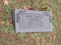 Ruby <I>Johnson</I> Bagwell