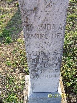 Amanda A Jones