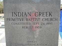 Indian Creek Primitive Baptist Church Cemetery