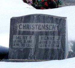 Mary F <I>Jensen</I> Christensen