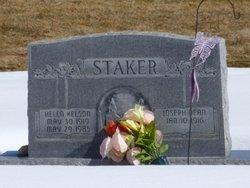 """Helen """"Ginger"""" <I>Kelson</I> Staker"""