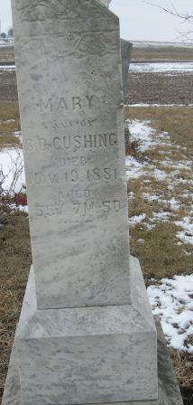 Mary Susan <I>Rayles</I> Cushing