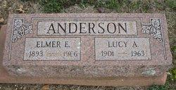 Lucy A. <I>Napier</I> Anderson