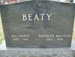 Kathlyn Corinne <I>MacLean</I> Beaty
