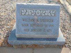 "W A ""Bill"" Springer"