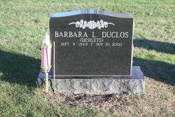 Barbara Lynn <I>Desilets</I> Duclos