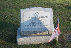 Thomas E Brown
