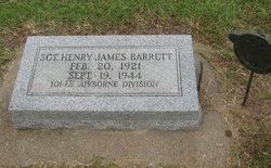 Sgt Henry James Barrett