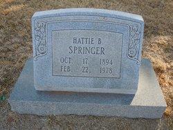 Hattie B. Springer
