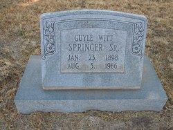 Guyle Witt Springer, Sr