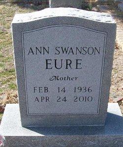 Ann <I>Swanson</I> Eure