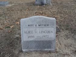 Alice V Lincoln